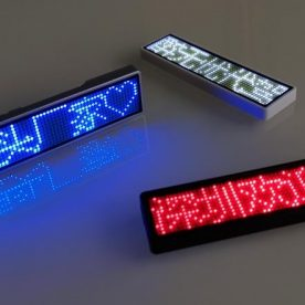 LED Badge Mini LED Display single color