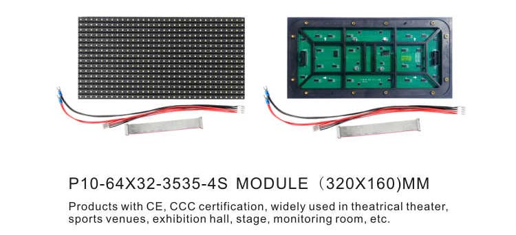 P10 outoor led screen module