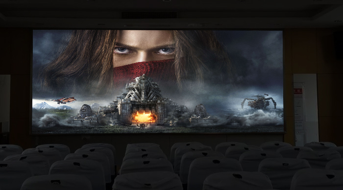 HD LED Screen for Home Theatre or Cinema
