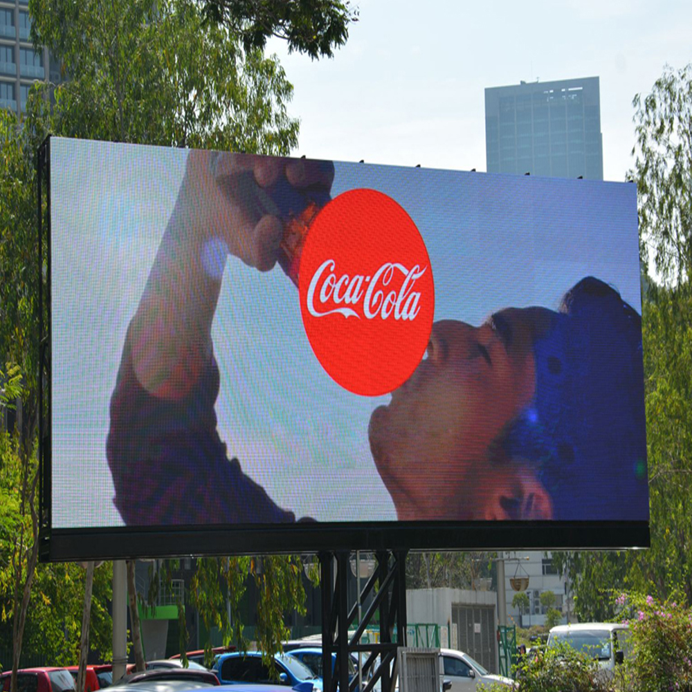outdoor led display screen 8mm pixel pitch