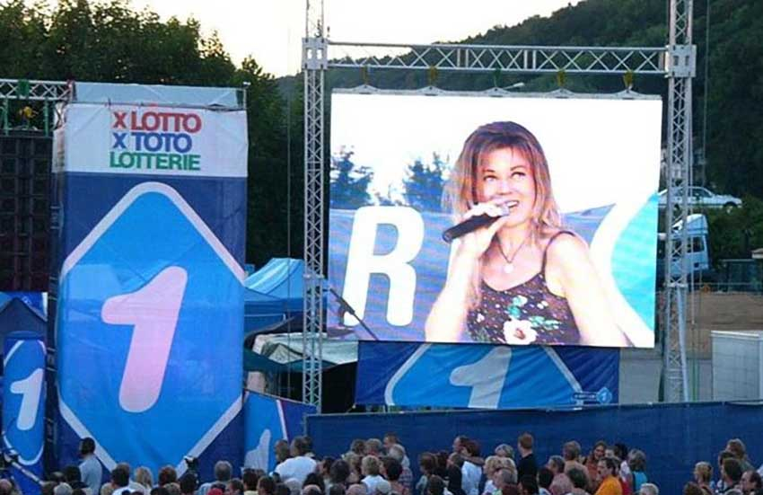outdoor p3.91 led display for rental events
