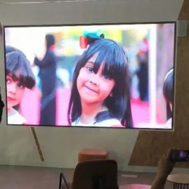 p2 led display project in ajman