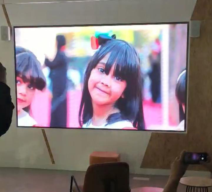 Indoor LED Screen in Ajman p2.88x1.92 meter