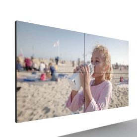 lcd video wall large size samsung and lg display for cctv camera and monitoring room