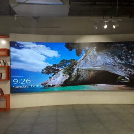 indoor curve led display in ajman uae