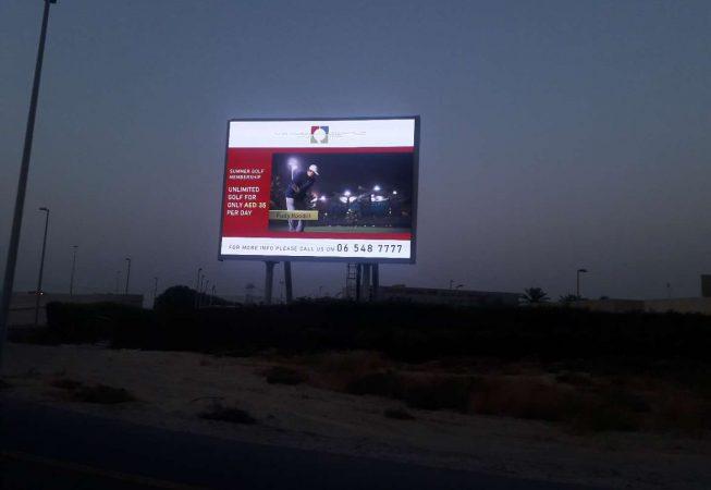 Outdoor Pillar LED Screen