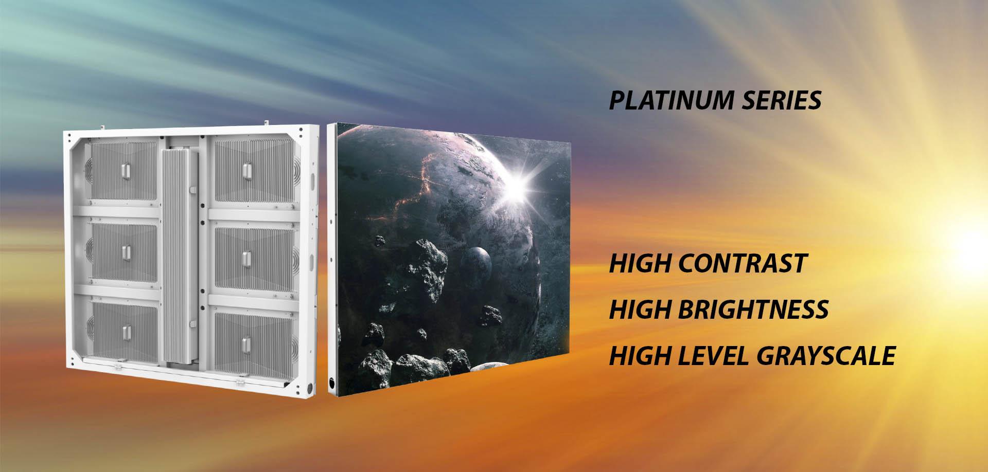 led display platinum series